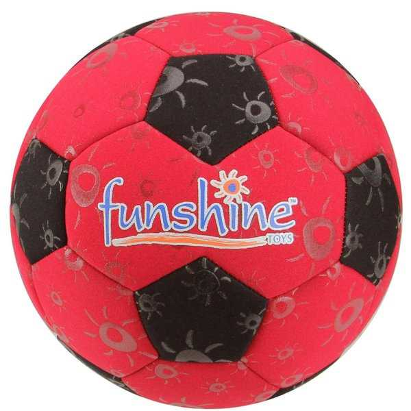 Red Funshine Wetfoot Swimming Pool Neoprene Soccer Balls