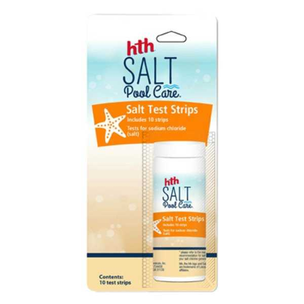 HTH 67005 Salt Pool Care Test Strips, 10-Count