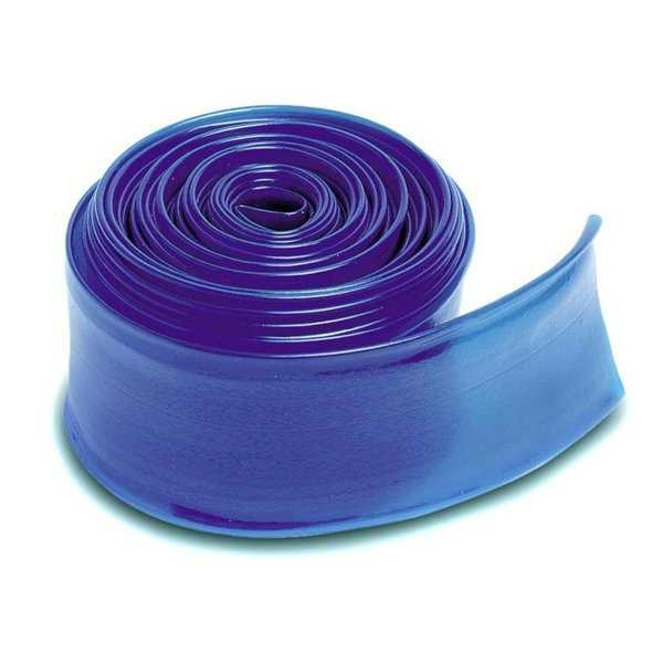 Blue Heavy Duty Swimming Pool PVC Filter Backwash Hose - 50' x 2' - 600