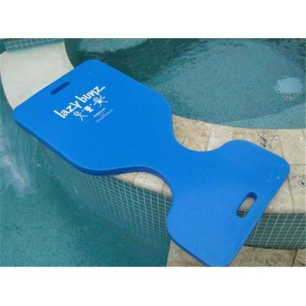 Float Storage Super Soft Deluxe Saddle Water Float - Marina Blue