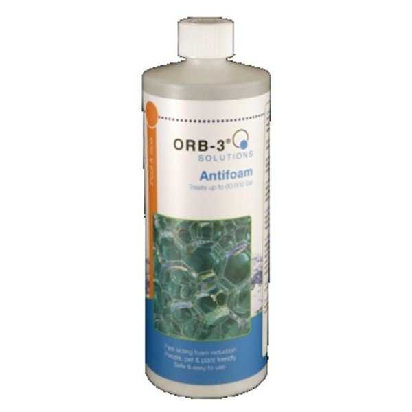 Orb-3 T422-000-1Q 1 qt Pool & Spa Antifoam Bottle