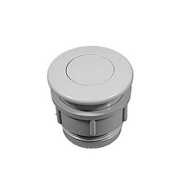 Waterway Plastics 650-3007 Super Deluxe Air Button, Gray
