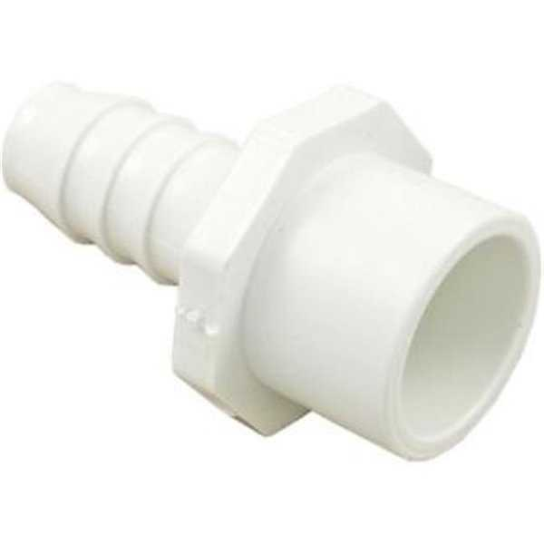 Waterway Plastics 672-4310 PVC Barb - Spigot & 0.75 x 0.75 in. RB